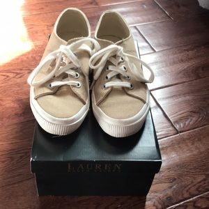 Ralph Lauren Canvas Sneakers